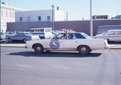 Dickinson Police Department 1975 Ford LTD