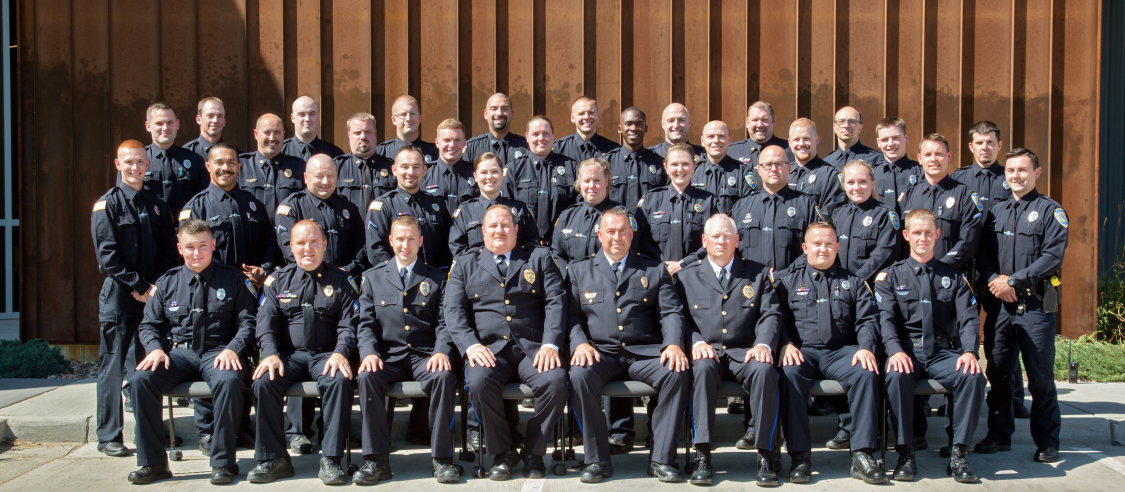 Dickinson Police Department 2019 group picture