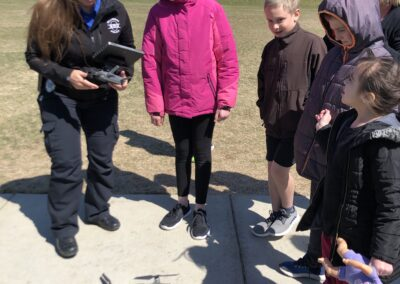 Dickinson Police Department drones and kids